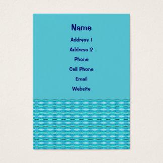 Cartes De Visite Motif lumineux de turquoise
