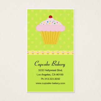 Cartes De Visite Motif moderne de boulangerie de petit gâteau
