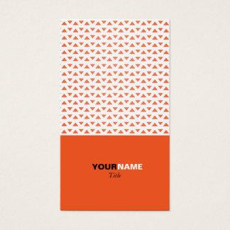 Cartes De Visite Motif orange élégant moderne de Groupon