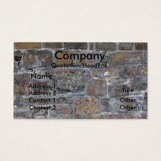 Cartes De Visite mur de constructeurs