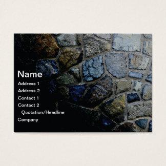 Cartes De Visite mur en pierre