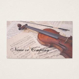 CARTES DE VISITE MUSIC