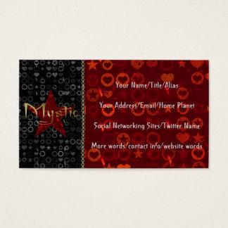 Cartes De Visite Mystique