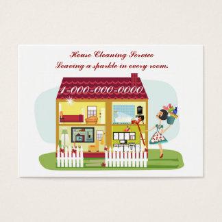 Cartes De Visite Nettoyage de Chambre