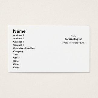 Cartes De Visite Neurologue