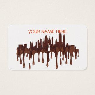 CARTES DE VISITE NEW YORK, HORIZON CH DE NY -