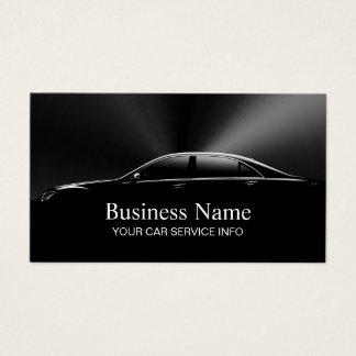 Cartes De Visite Noir professionnel des véhicules à moteur
