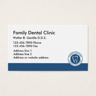 Cartes De Visite Nouveau bureau de dentiste ils