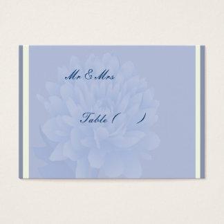 Cartes De Visite Oeillets bleus