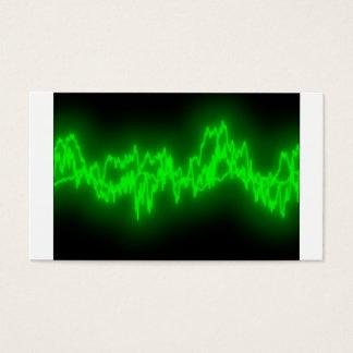 Cartes De Visite ondes sonores