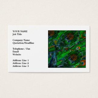 Cartes De Visite Paon