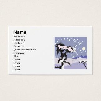 Cartes De Visite Paysage d'hiver