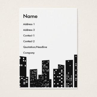 Cartes De Visite Paysage urbain |