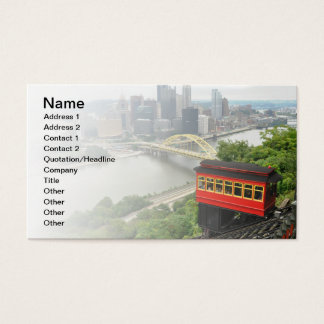 Cartes De Visite Pente de Duquesne à Pittsburgh, Pennsylvanie