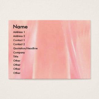 Cartes De Visite Pétale de rose soyeux
