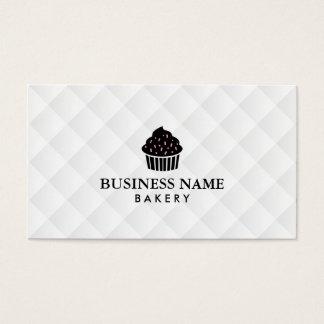 Cartes De Visite Petit gâteau doux de boulangerie simple et élégant