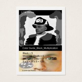 Cartes De Visite Petit pompier de Benny