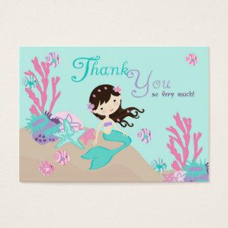 Cartes De Visite Petite brune de l'étiquette L2 de cadeau de la