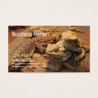 Cartes De Visite Photographie exotique d'animal familier et de