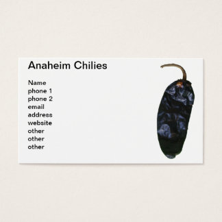 Cartes De Visite Piments d'Anaheim