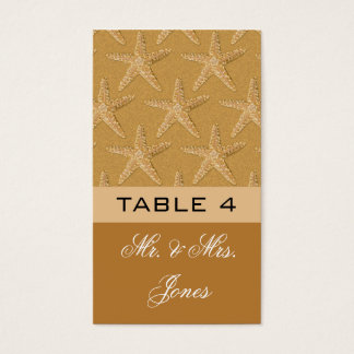 Cartes De Visite Placecards de Tableau pour épouser