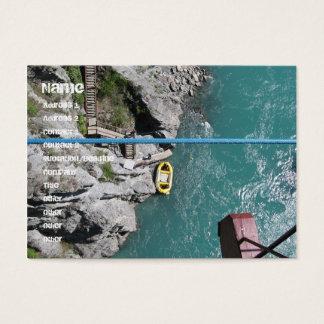 Cartes De Visite Pont Bungy POV, Queenstown, Nouvelle Zélande de