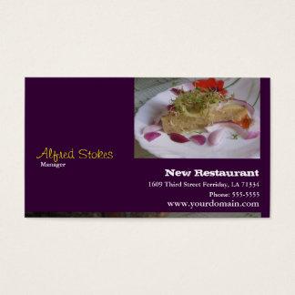 Cartes De Visite Pour des restaurants