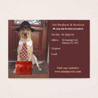 Cartes De Visite Produits et services d'animal familier