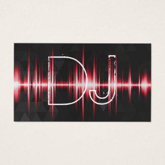 Cartes De Visite Professionnel frais moderne DJ