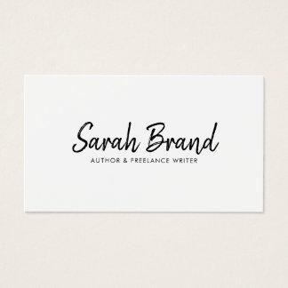 Cartes De Visite Professionnel moderne minimaliste élégant