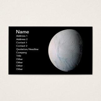 Cartes De Visite Rayures fraîches de tigre sur Enceladus