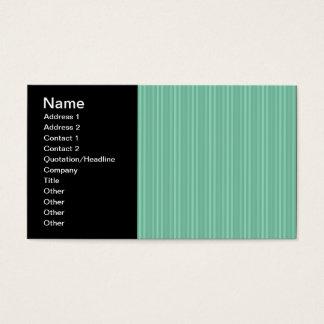 Cartes De Visite Rayures verticales vertes en bon état