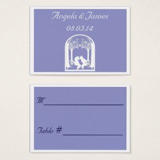 Cartes De Visite Renards de papier dans le lilas
