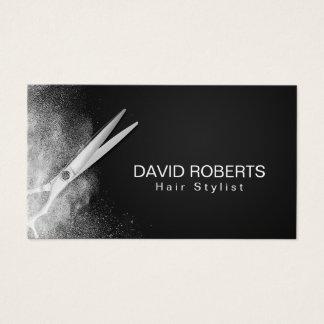 Cartes De Visite Rendez-vous de coiffeur de styliste en coiffure de
