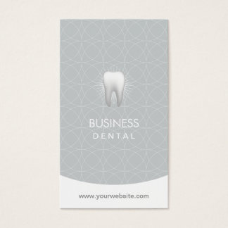 Cartes De Visite Rendez-vous moderne de soins dentaires de dentiste