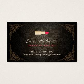 Cartes De Visite Rendez-vous vintage de salon de beauté de