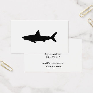 Cartes De Visite Requin de natation