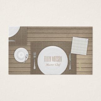 Cartes De Visite Restaurant et restauration