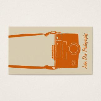 Cartes De Visite Rétro photographe d'antiquité d'appareil-photo de