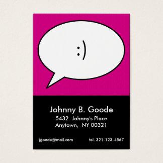 Cartes De Visite rétro télécarte personnelle rose d'ART de POP