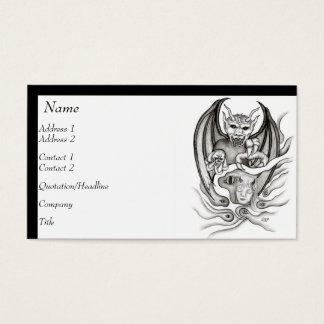 Cartes De Visite Rêve de minuit - diables