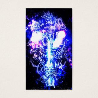 Cartes De Visite Rêves parisiens iridescents de ceux qui aiment