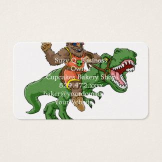 Cartes De Visite rex Bigfoot de rex-T de la Bigfoot-bande dessinée