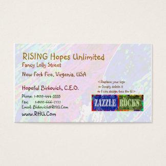 Cartes De Visite ROCHES de ZAZZLE - éclaboussure de Vierge par