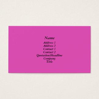 Cartes De Visite Rose lumineux