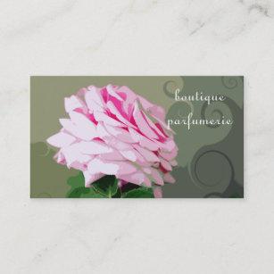 Cartes De Visite Roses Parfumerie Boutique