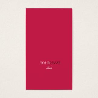Cartes De Visite Rouge Elegante de rouge à lèvres de Groupon
