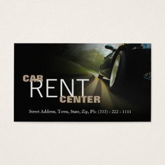 Cartes De Visite Route rapide de voiture de centre des véhicules à