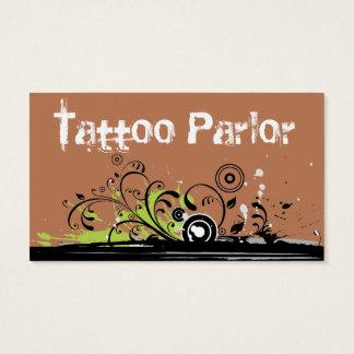 Cartes De Visite Salon de tatouage