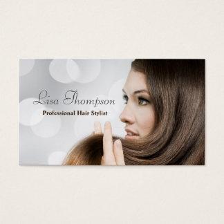 Cartes De Visite Salon professionnel élégant de coiffeur